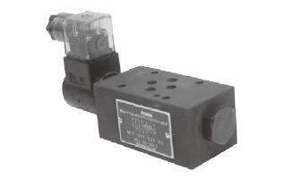 疊加式電控單向止逆閥MSC-02,03